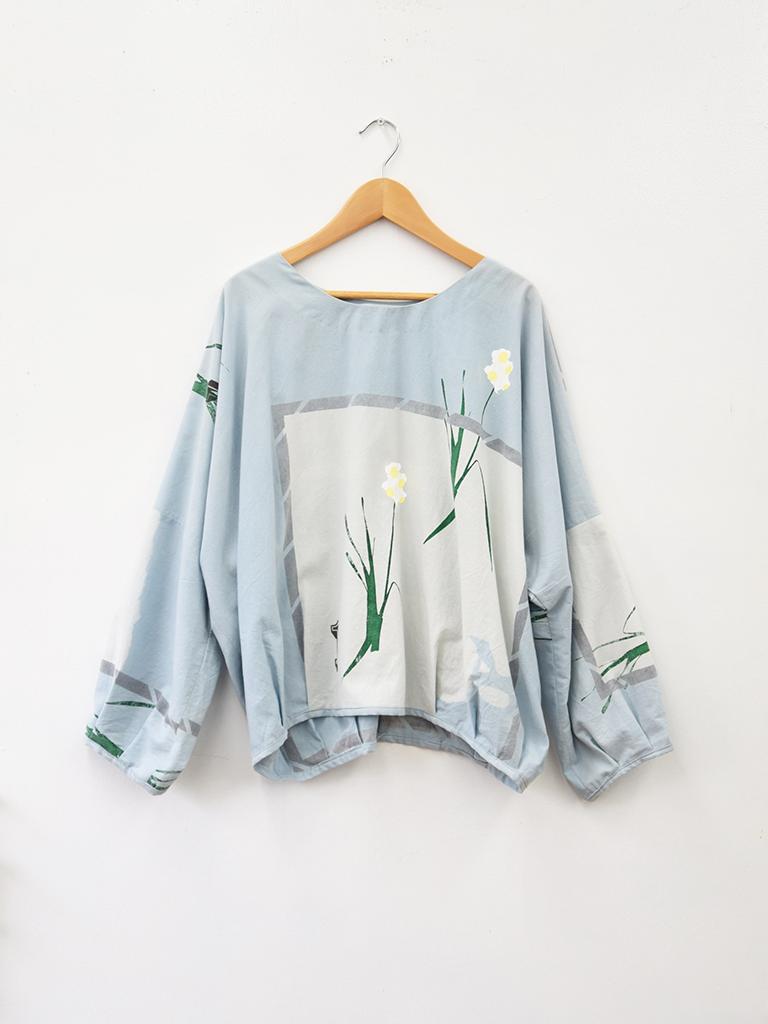 over shirt 「ラッパ水仙」