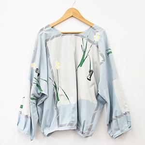 over shirt 「ラッパ水仙」_02
