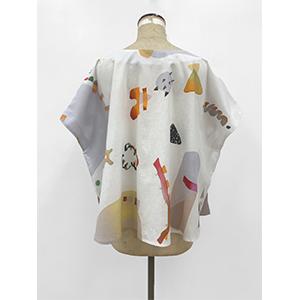 「傘のむこう」イイダ傘店コラボレーションアイテム blouse 「ナイスなおでん」_02