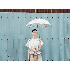 「傘のむこう」イイダ傘店コラボレーションアイテム blouse 「ナイスなおでん」_07