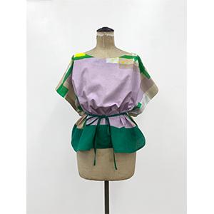「傘のむこう」イイダ傘店コラボレーションアイテム blouse 「ひばり」_03