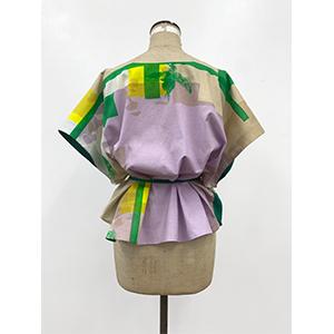 「傘のむこう」イイダ傘店コラボレーションアイテム blouse 「ひばり」_04