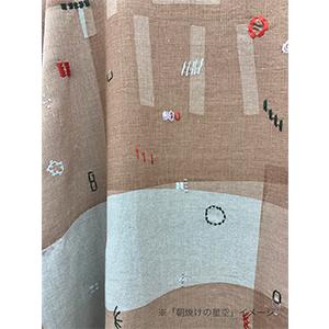 「傘のむこう」イイダ傘店コラボレーションアイテム open coller shirt 「夕方の星空」「朝焼けの星空」_05