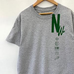 [受注受付終了]Nathalie Wise collaboration Tshirt grey_04