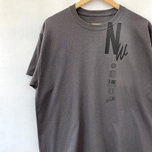 [受注受付終了]Nathalie Wise collaboration Tshirt charcoal_04