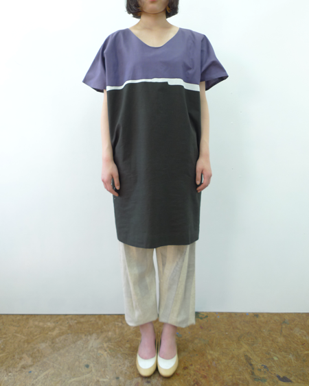 bi-color tunic