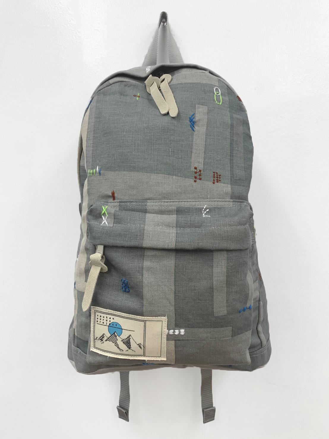 「傘のむこう」イイダ傘店コラボレーションアイテム day pack 「夕方の星空」